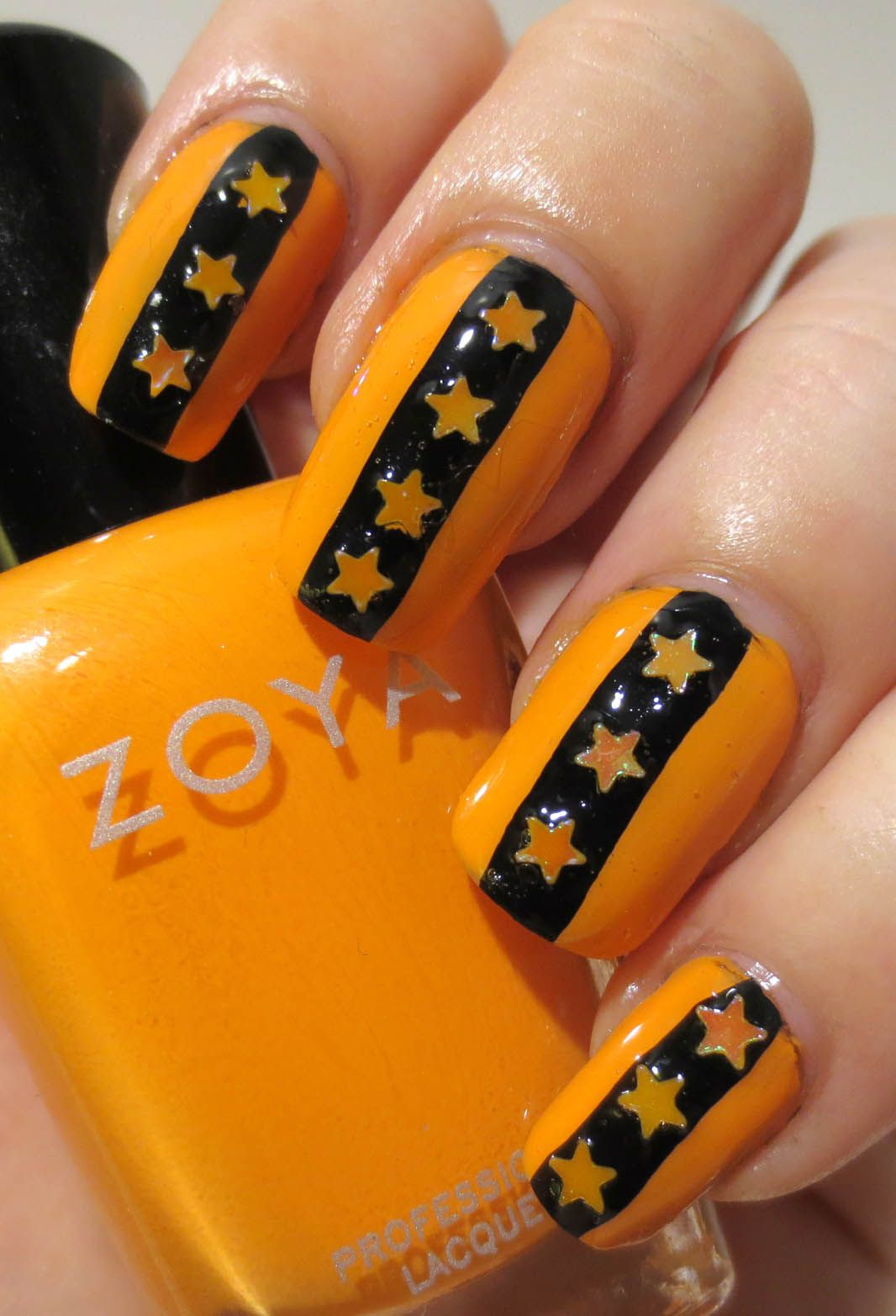 Galactic Lacquer: 8 Spooky Nights - Only Black & Orange