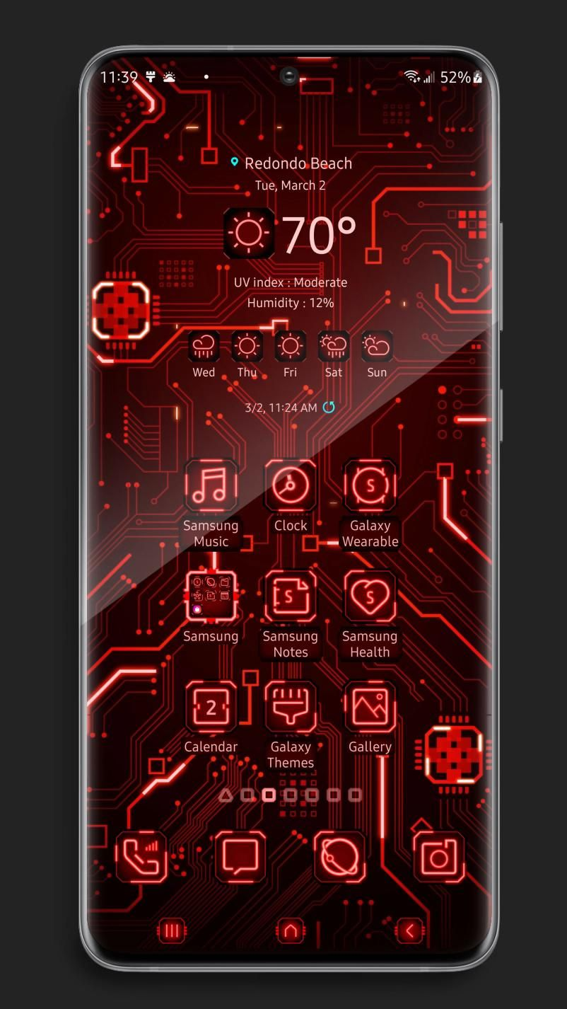 X9 Circuit - Red