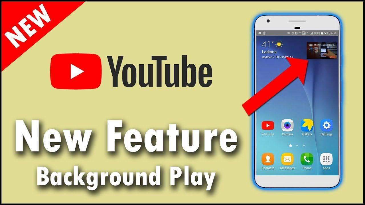 Best Android App To Play Youtube Videos In Background 2018 Best Android Android Apps Youtube Videos