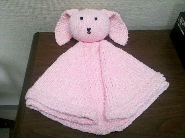Ravelry: Cuddle Bunny Blankie pattern by Peggy Harris ...