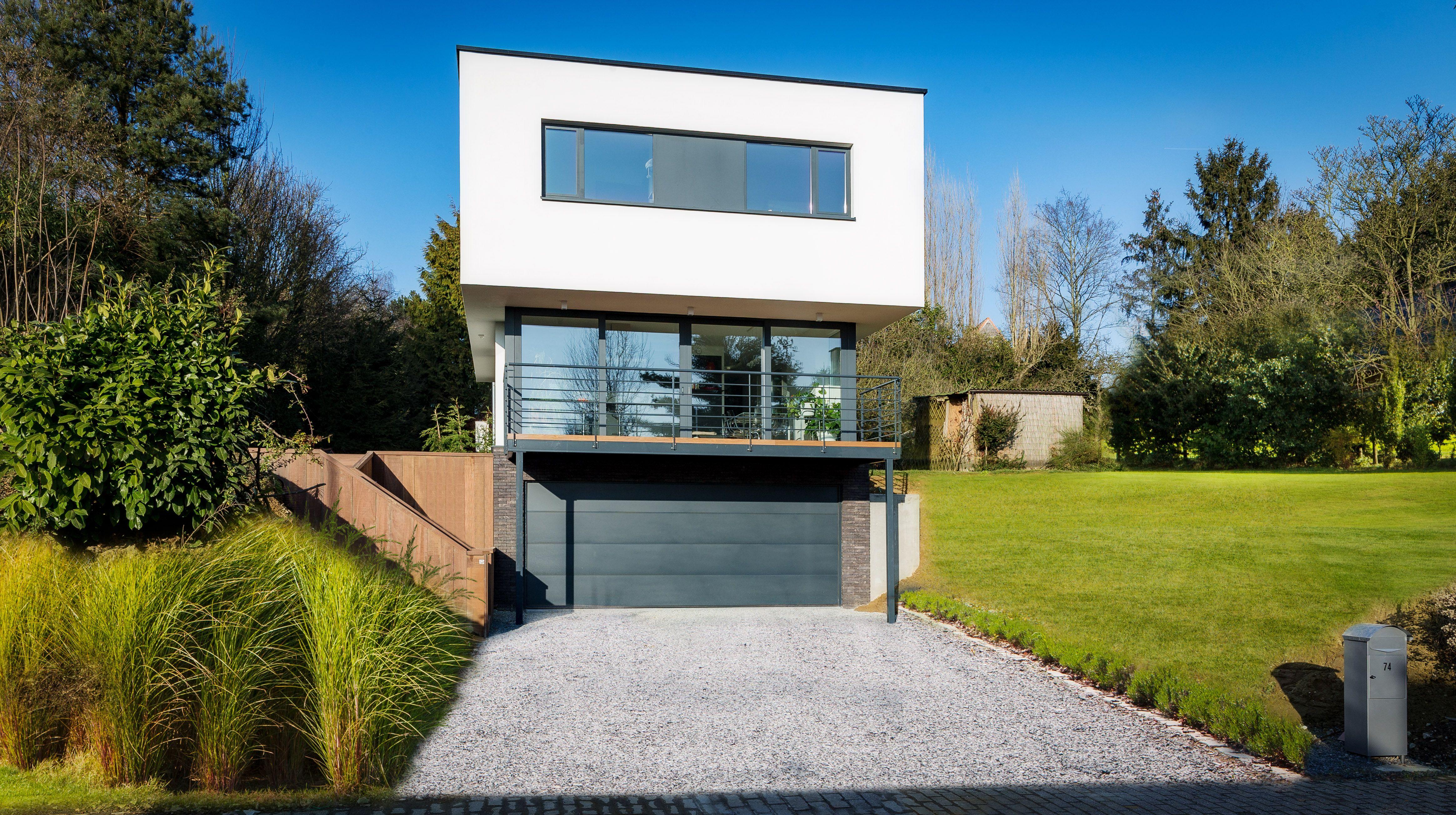 Maison moderne en périphérie urbaine de Bruxelles | Inspirations ... - Photo De Maison Moderne