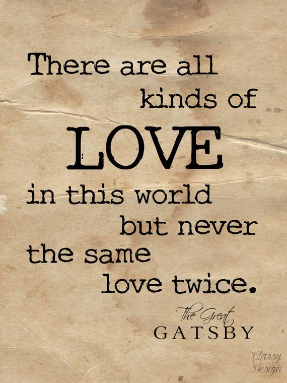 The Great Gatsby Quote Graphic Print   Products   Great ...