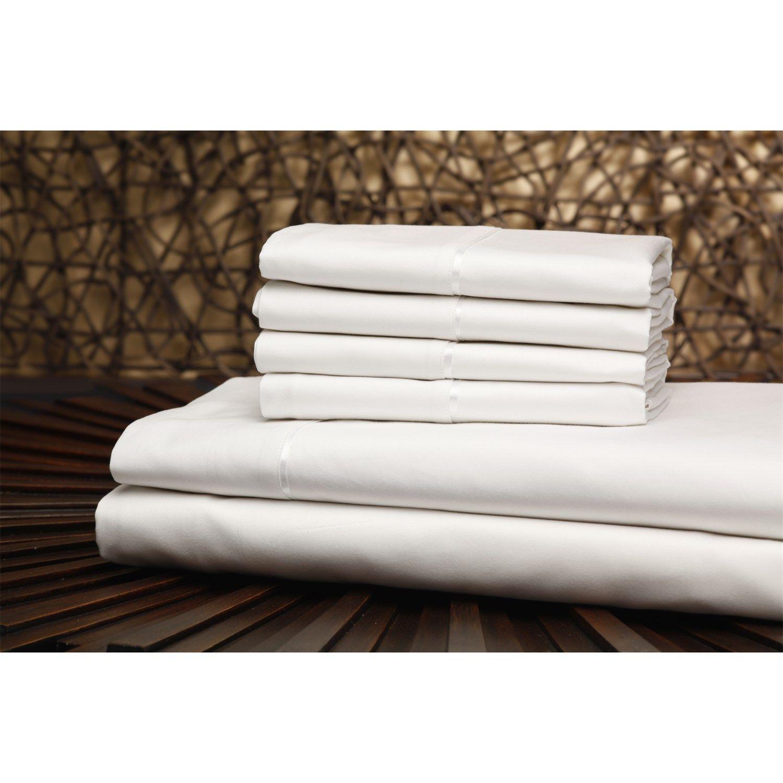 southern textiles qh0304 california king 750tc single ply sheet set
