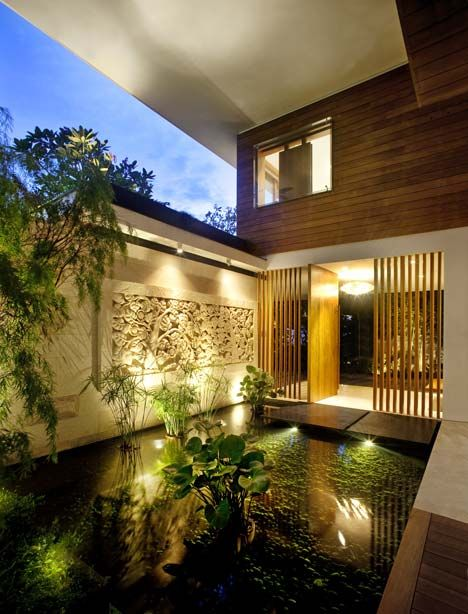 Sky Garden House By Guz Architects, Singapore ~ Each Level Of The House Has  A
