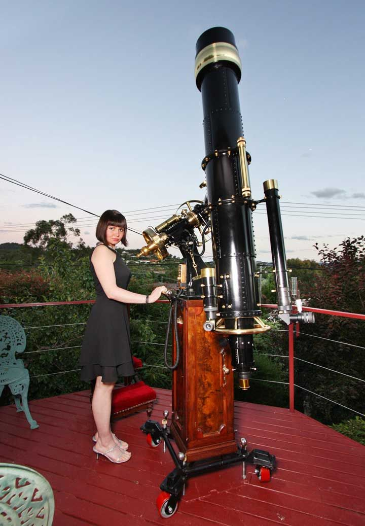 how to build a refractor telescope