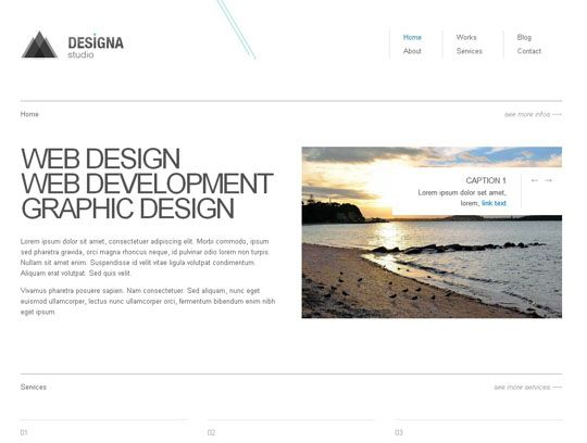 100 absolutely free responsive html5css3 website templates