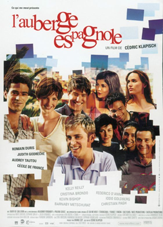L Auberge Espagnole French Movies Movie Posters Cinema Spanish Apartment