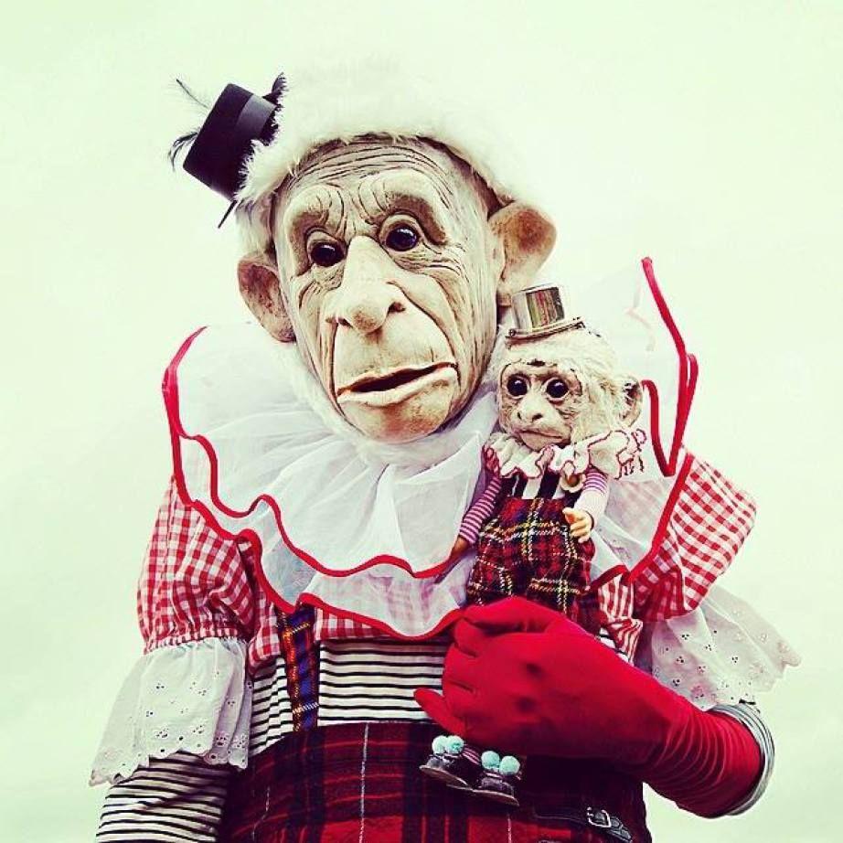 Annie Montgomerie creates very unique dolls. ooak art dolls monkey ooak (please follow minkshmink on pinterest)
