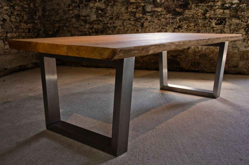 large oak dining table from tarzan tables