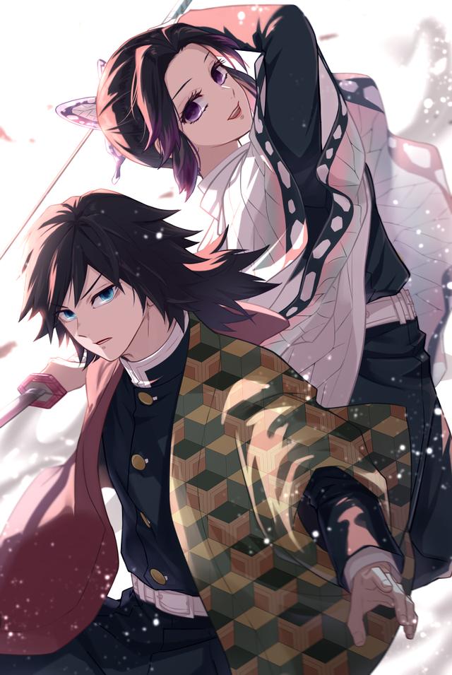 Giyuu & Shinobu