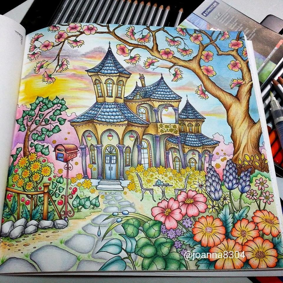 Romantic Country Coloring Book If Youre In The Market For Best