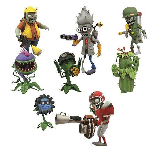 Zombies Garden Warfare Action Figure 2 Pack Set Figuras De Acción