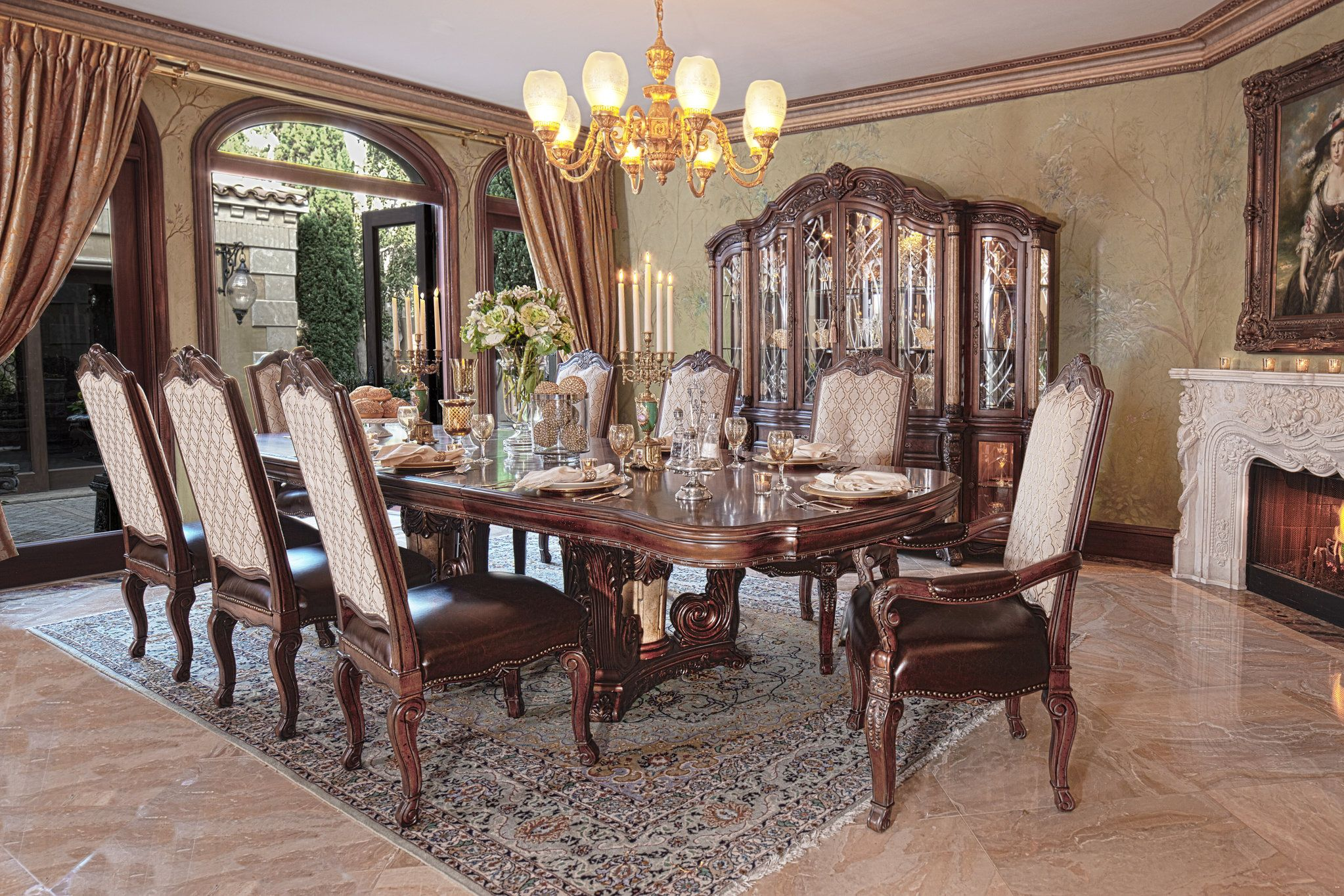 The Victoria Palace Formal Dining Room Collection 12704  Glass Inspiration Formal Dining Room Collections 2018