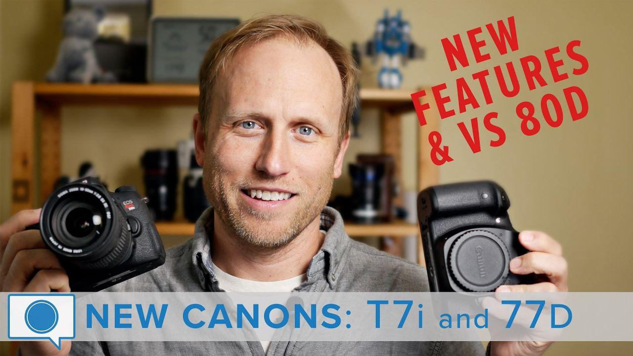 NEW Canons - 77D (EOS 9000D) & T7i (EOS 800D) vs 80D | Canon