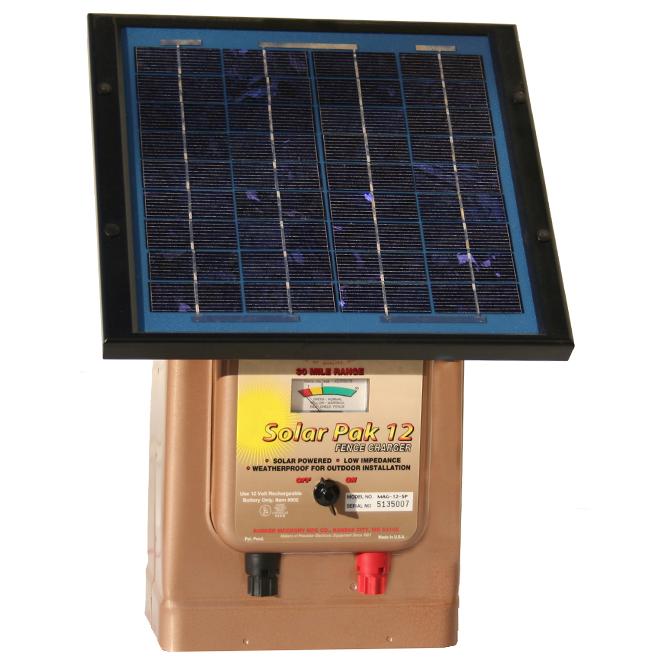 Parmak Solar Electric Fence Charger Pak 12 48 Km Range 12 V Mag 12 Sp Rona Solar Solar Electric Fence Solar Power