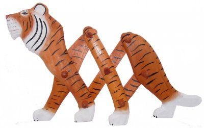 Wooden Tiger Clothes Rack at theBIGzoo