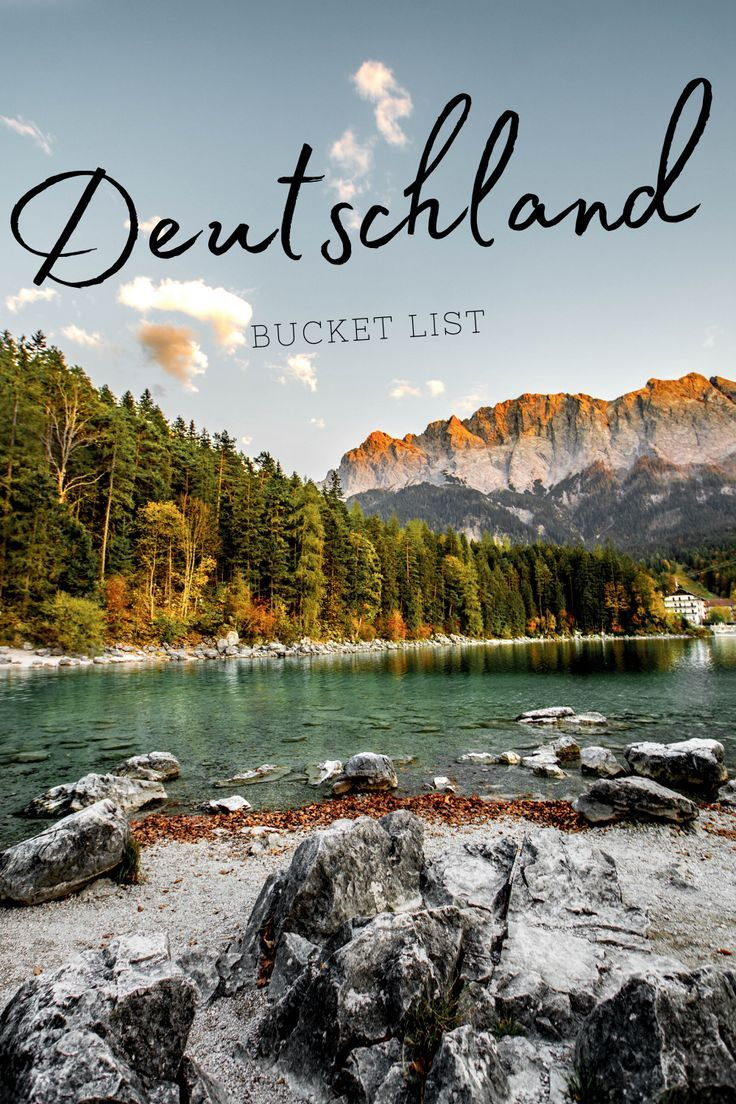 Was musst und solltest du in Deutschland unbedingt gesehen und erlebt haben? Hier findest du meine Deutschland Bucket List. Auch als PDF Download! #deutschland #bucketlist #reiseziele #reisen #bayern