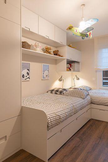 Reforma integral en neguri dormitorios infantiles de estilo clásico de gumuzio&migoya arquitectura e interiorismo clásico #lightbedroom