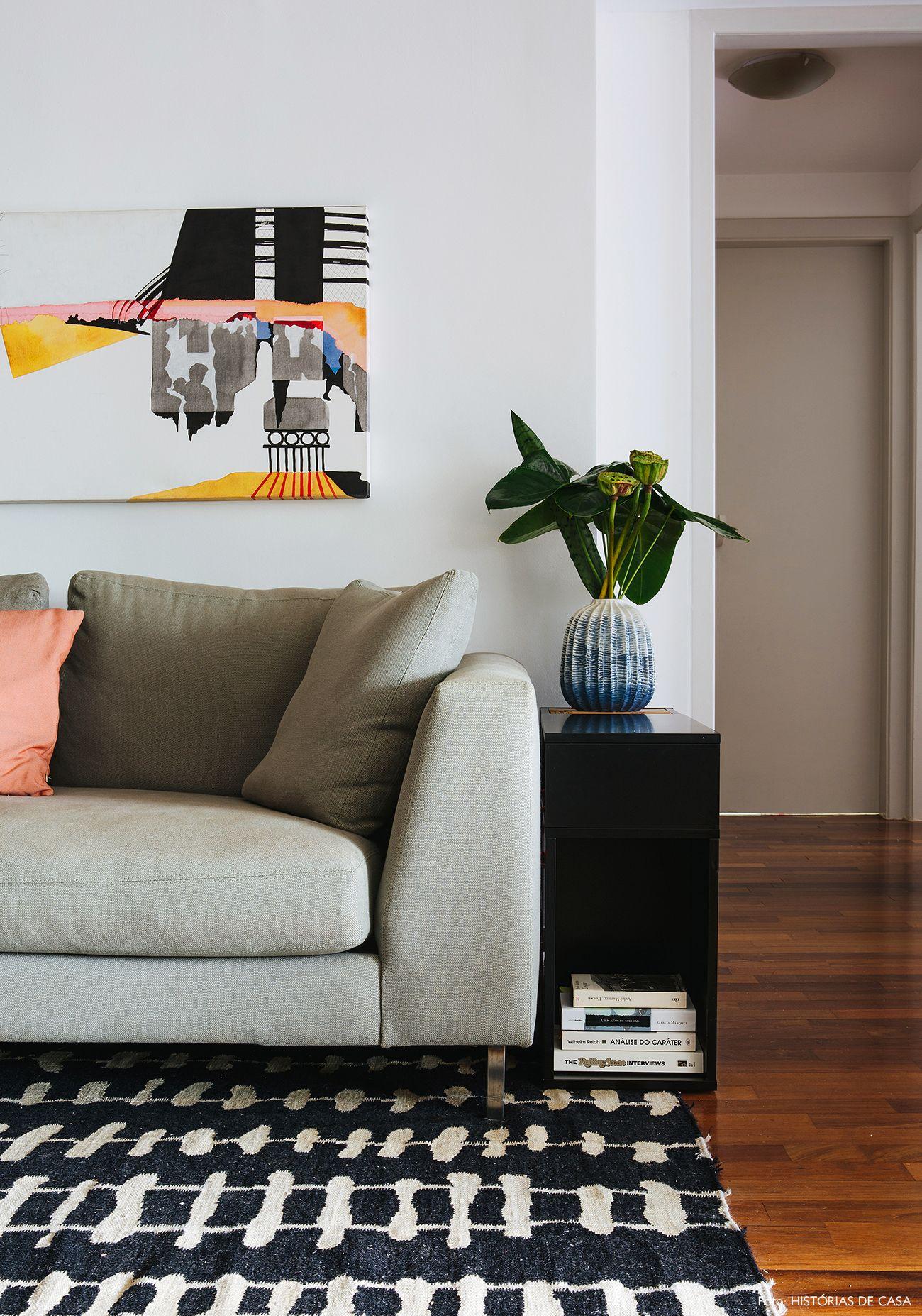 Um novo começo   Sala de Estar   Living room   Apartamento, Casas e ... f81eecc110