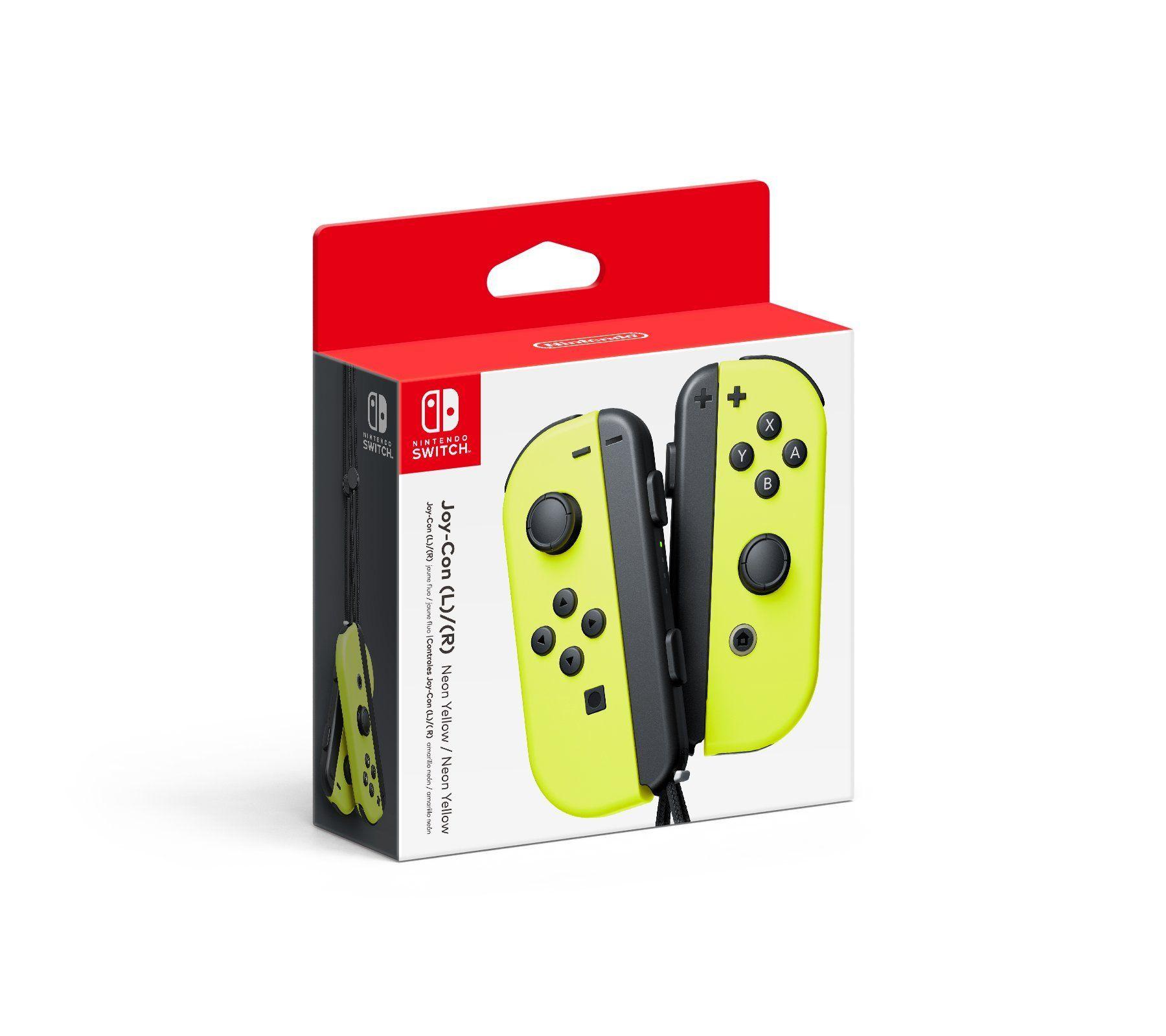 Nintendo Joy-Con (L/R) - Neon Yellow,#Joy, #Nintendo, #Con
