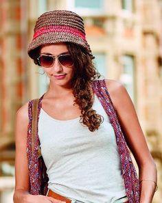 Sommerlicher Hut - Häkelanleitung im Blog von Makerist.de