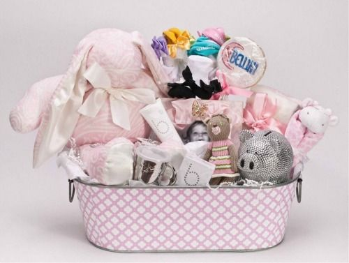 The Bellini Baby Gift Basket is the epitome of luxury. #giveaway #babygift