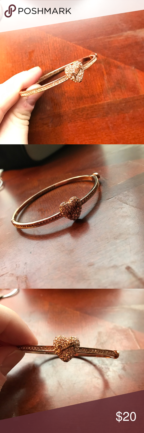Rose gold juicy bangle Juicy couture jewelry Juicy couture and Bangle