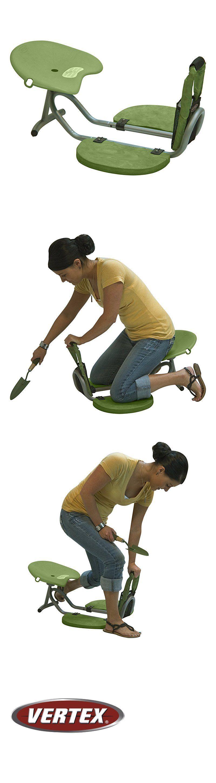 Garden Kneelers Pads And Seats 75669: Vertex Easy Up Kneeler Gardening Seat  For Pruning
