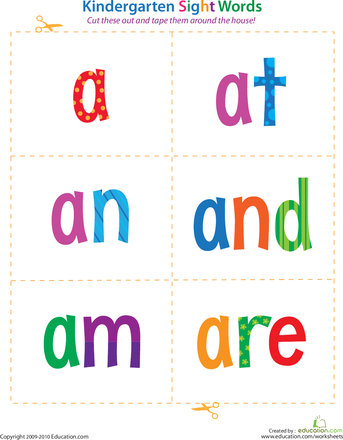1000+ images about Sight Words / Flash Cards on Pinterest | Sight ...