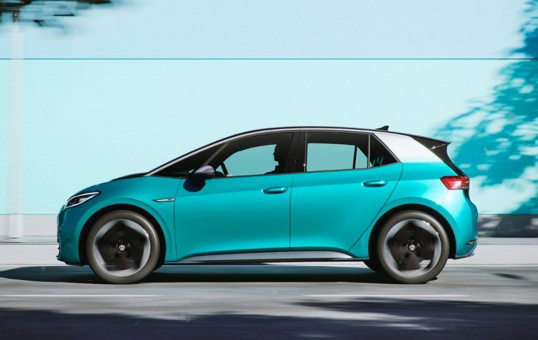 Vw Id 3 Volkswagen Zeigt Video Fur Head Up Display Und Mehr Elektroauto Volkswagen Und Autos