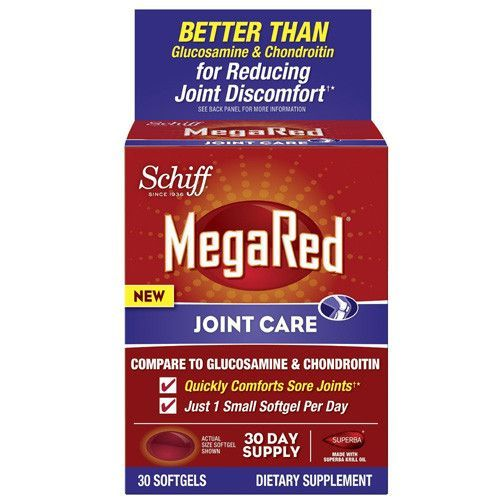 Schiff Vitamins Joint Care MegaRed (30 Softgels)