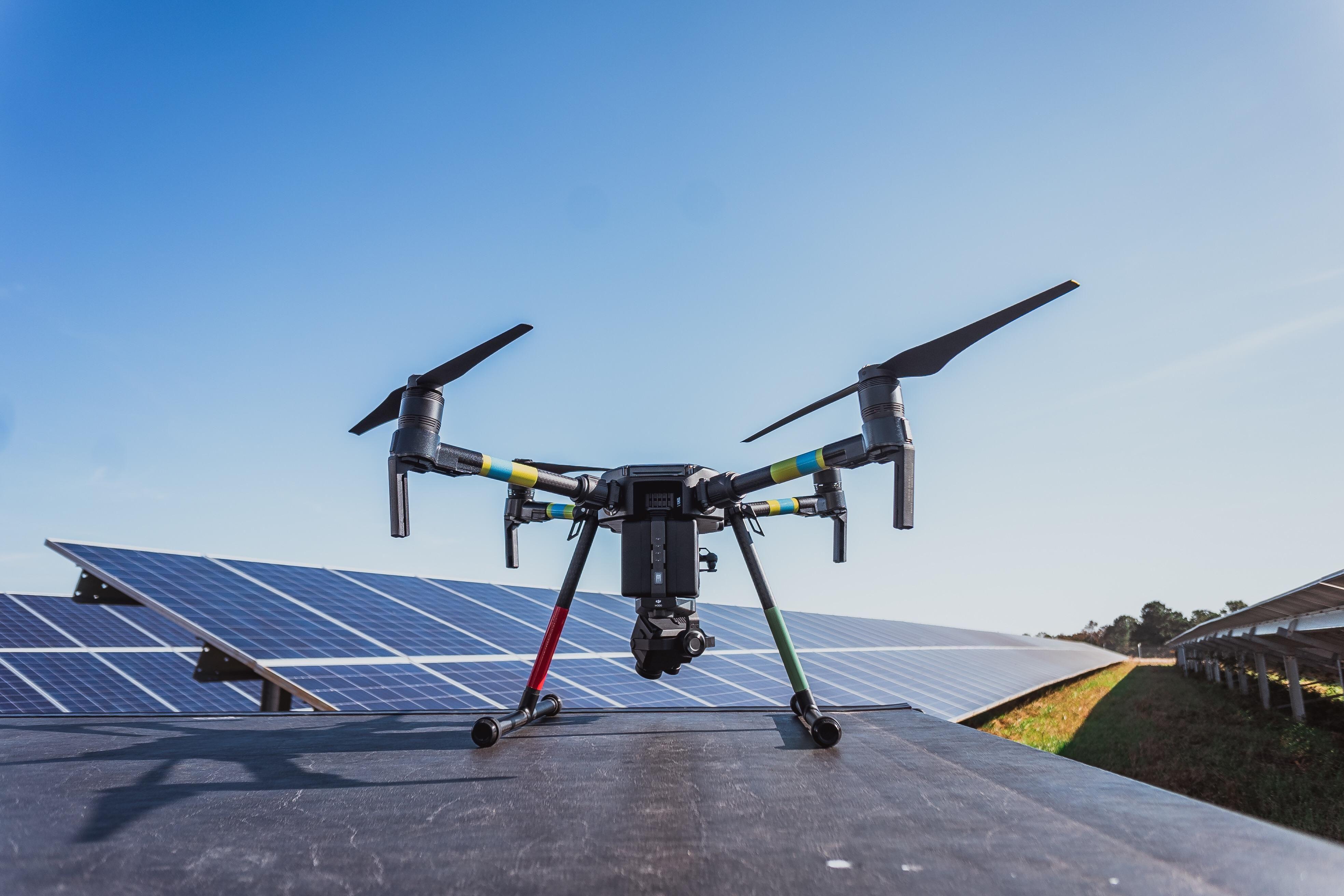 Dji matrice 200 for solar pv inspections drones solar