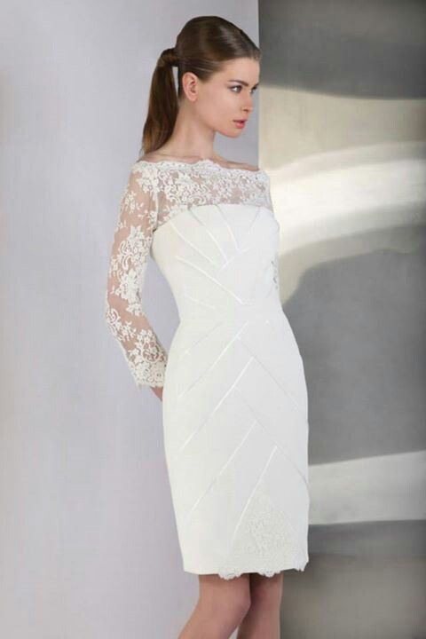 Vestido de novia civil | Vestidos novia | Pinterest | Vestidos de ...