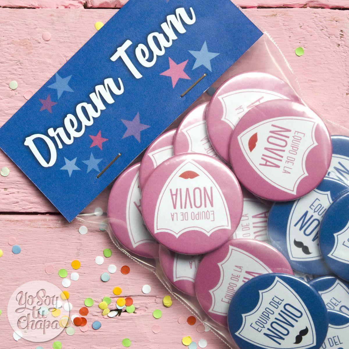 Nuevo Dream Team Pack! ¡Que cada uno elija su equipo! #bodas ...