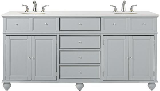 Home Decorators Collection Hampton Harbor 72 in W x 22 in D Double