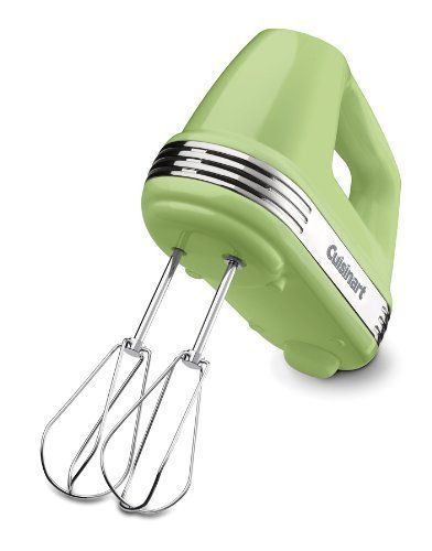 Perhaps I should get this with my Amazon giftcard...Cuisinart HM-50LG Power Advantage 5-Speed Hand Mixer, Light Green by Cuisinart, http://www.amazon.com/dp/B0076CMHQU/ref=cm_sw_r_pi_dp_.OUPpb0RB0PZE