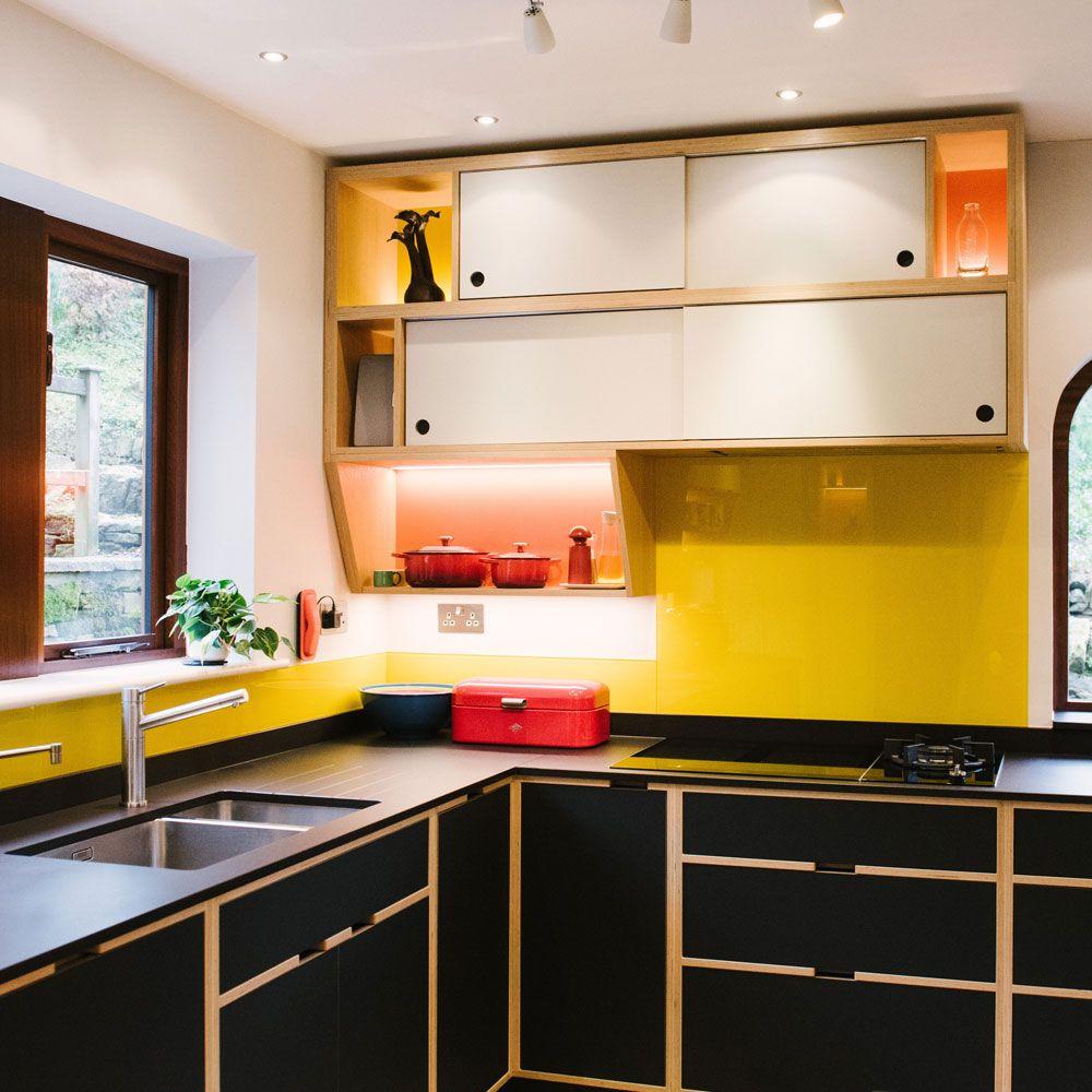 Bespoke Plywood Kitchens in 9   Plywood kitchen, Kitchen ...
