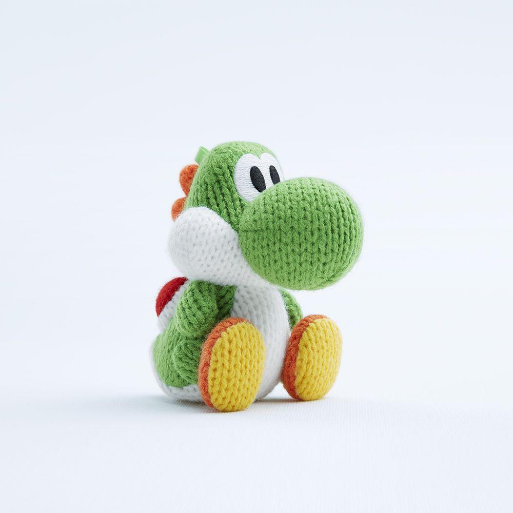 yarn yoshi amiibo - Google Search | toys and stuff | Pinterest ...