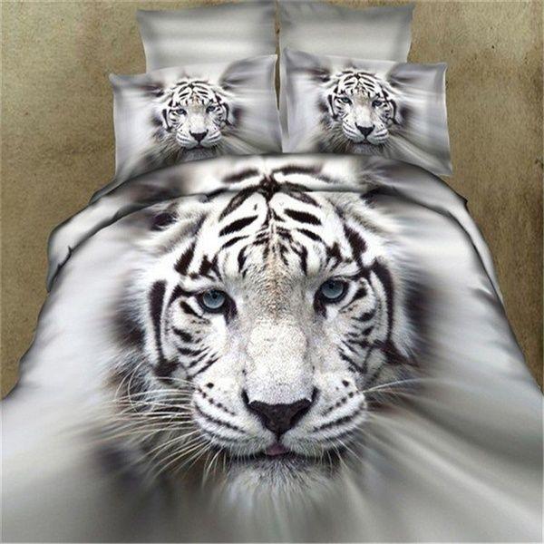3D Tiger/Wolf Bedding Set Comforter Bedclothes Comforter Bedding Sets(Size King,Size Queen,Size Twin) | Wish