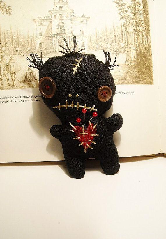 Handmade Art Doll  Voodoo Doll