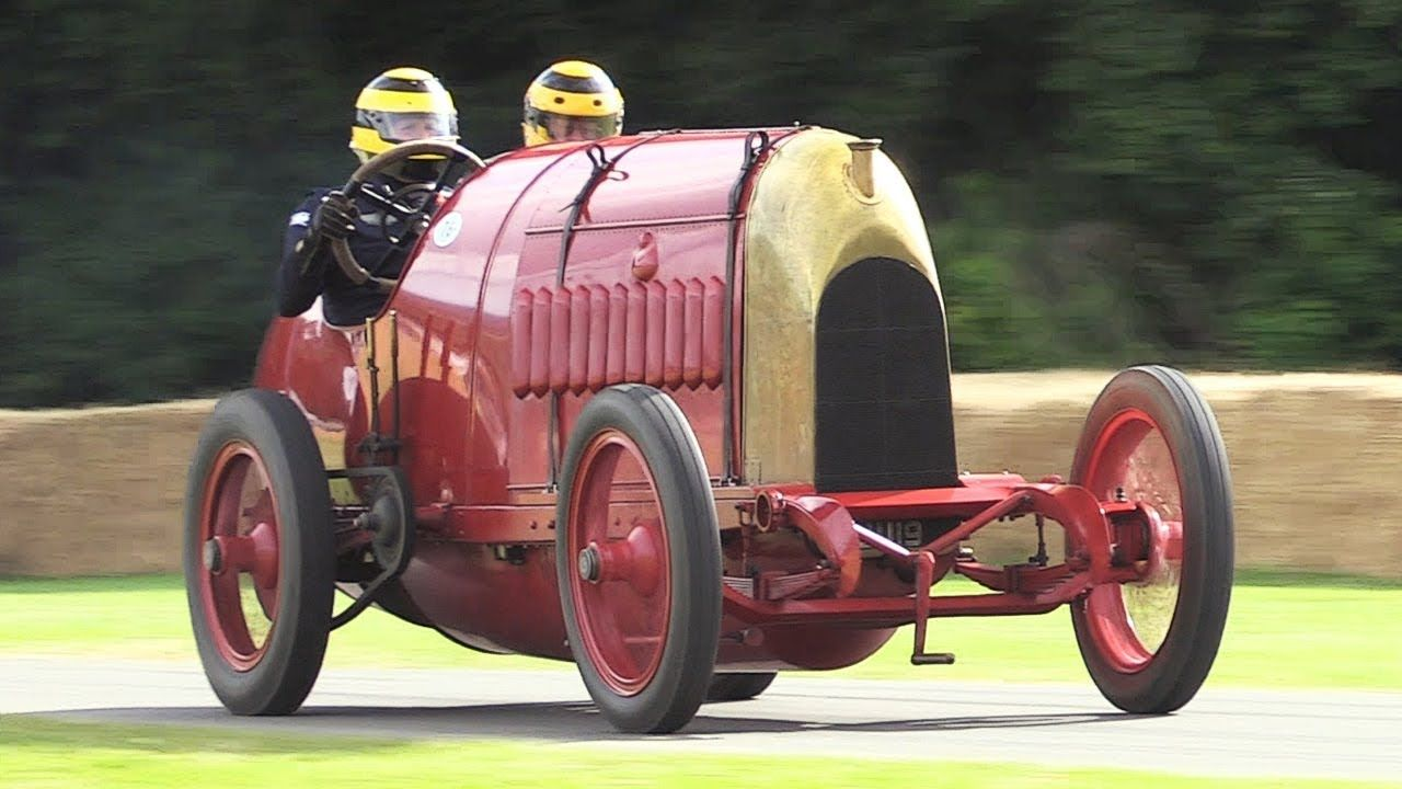 The Beast of Turin 1911 Fiat S76 in Action 28.4litre 4