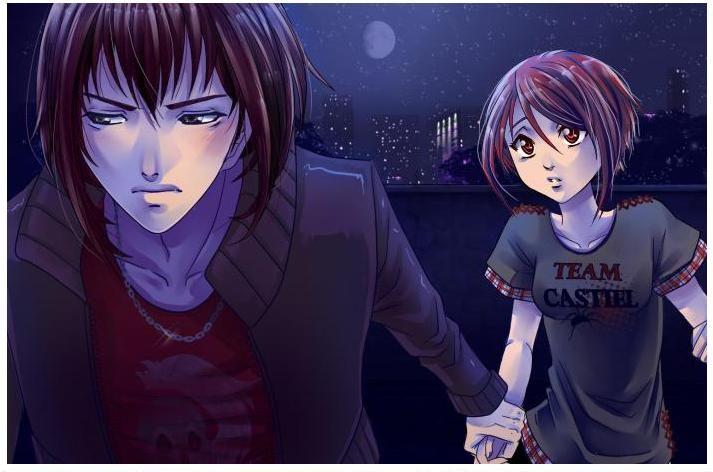 My Candy Love Walkthrough Castiel Castiel Anime Illustration