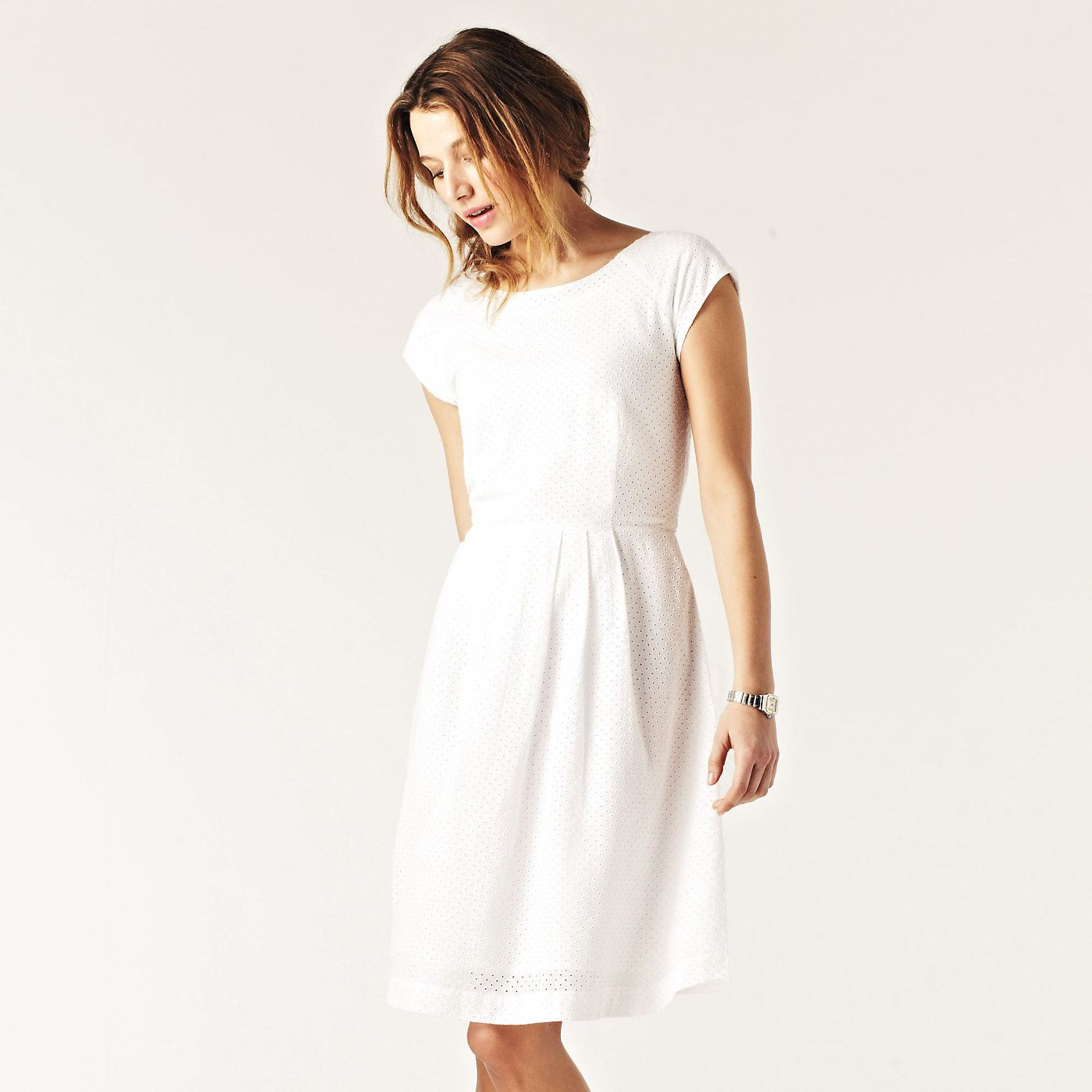 genuine shoes cheaper sale outlet boutique Broderie Dress | The White Company | My style inspiration ...