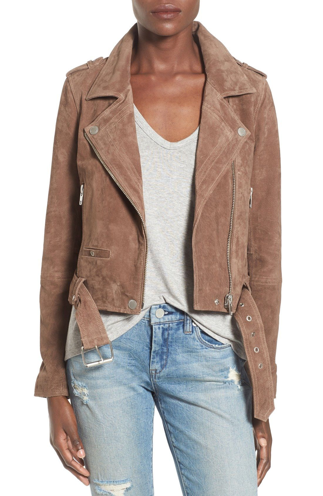 Women's Coats & Jackets Suede jacket outfit, Nordstrom