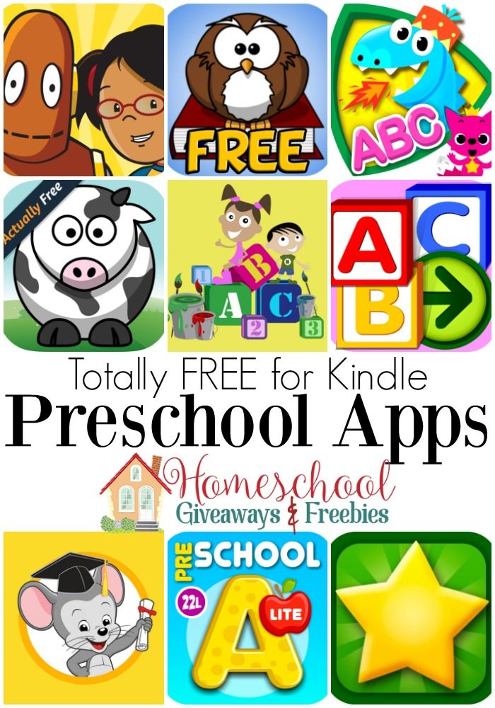 Totally Free Preschool Apps for the Kindle Free learning