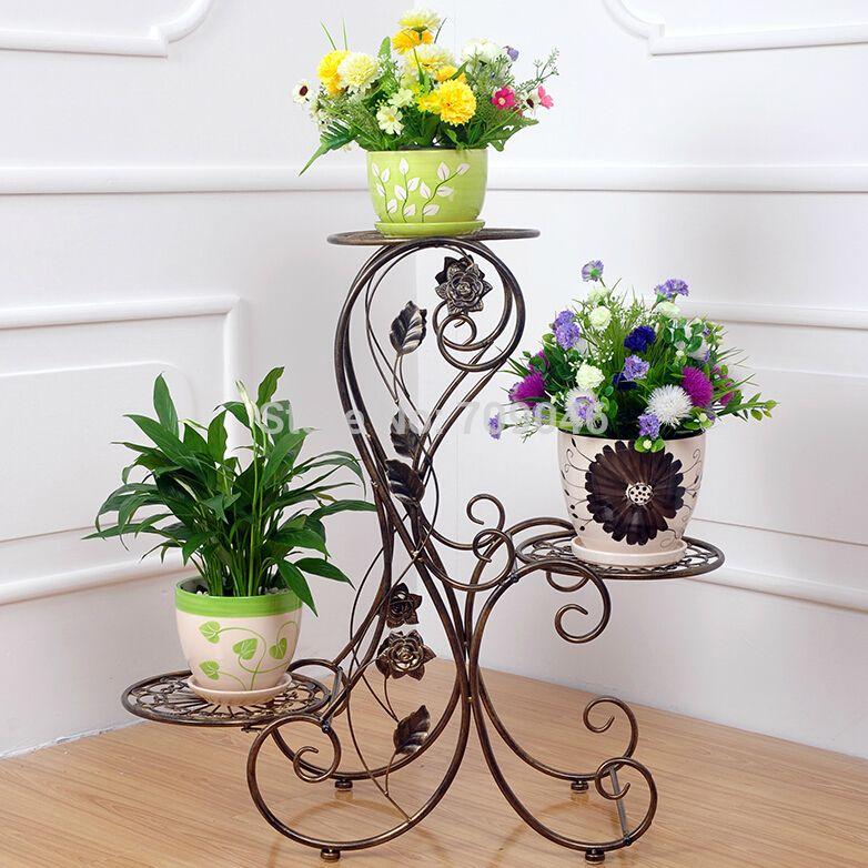 Soportes para plantas hierro buscar con google macetas - Pedestal para plantas ...