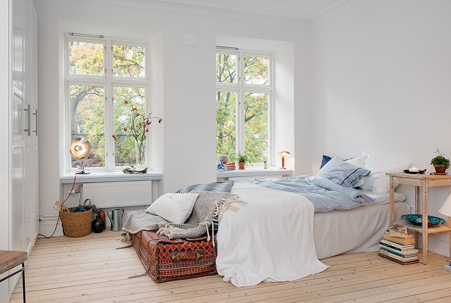 Schlafzimmer-Deko-Ideen Skandinavisches Schlafzimmer SCHLAFZIMMER - schlafzimmer deko bilder