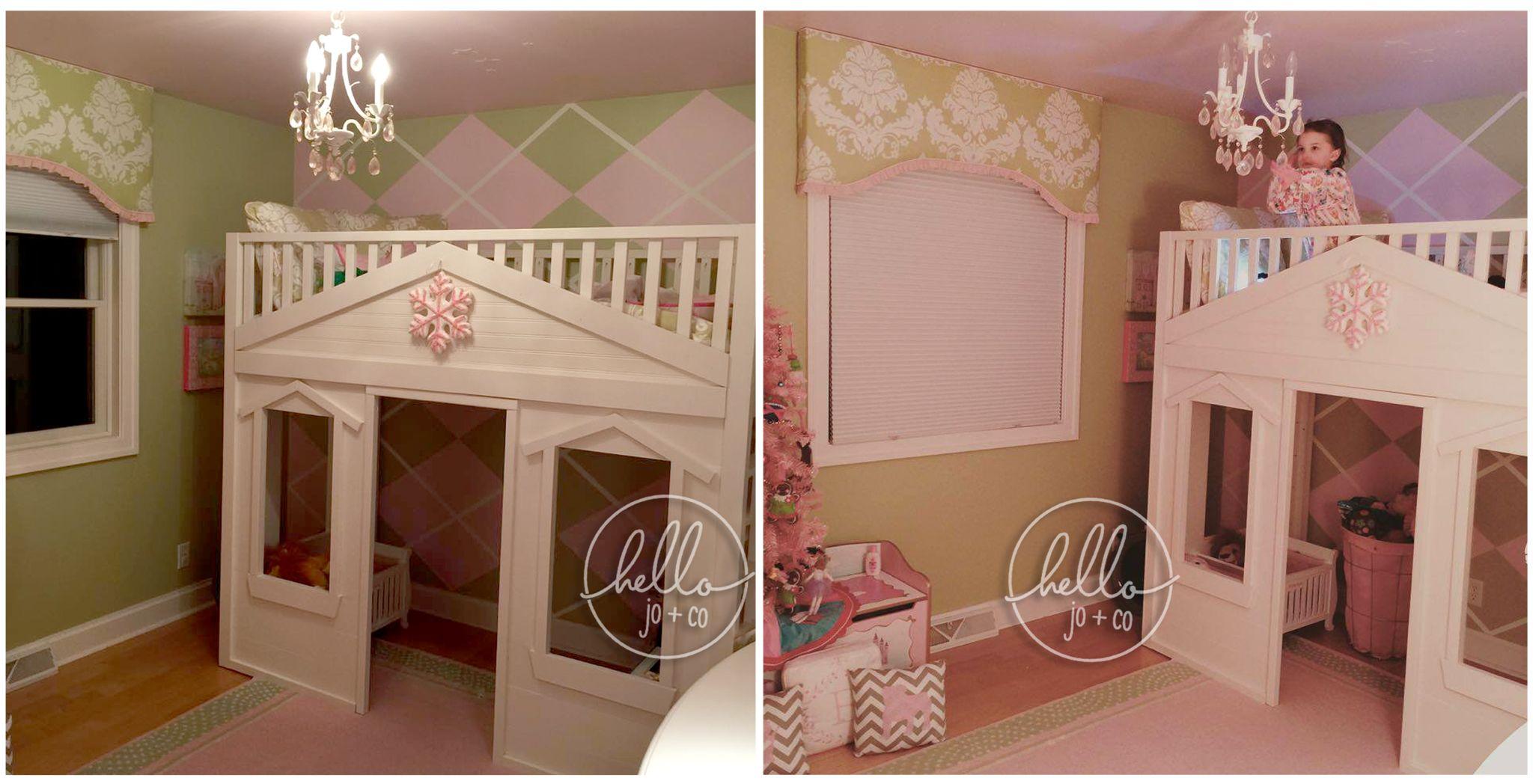 hello jo + co twin cottage loft we make custom beds