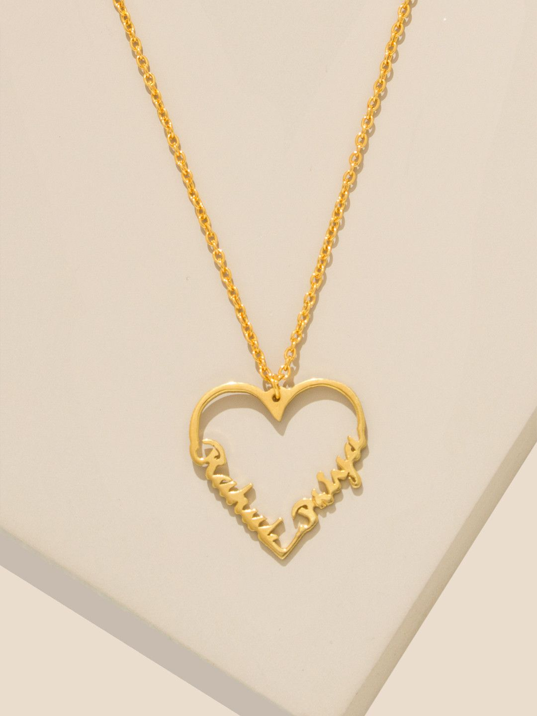 73059a09d7316 Pipa Bella | Buy 18K Gold Plated Personalized Necklace | Get Silver ...