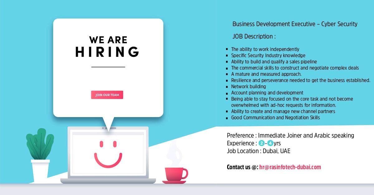 Business Development Executive UAE Job Openings Business